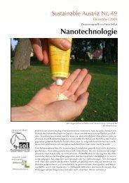Nanotechnologie - SOL - Menschen für Solidarität, Ökologie und ...