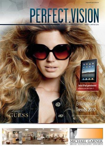 Internationale Brillenmode