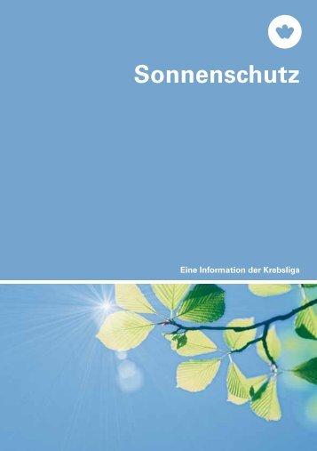 XXXXX Sonnenschutz - Krebsliga Schweiz