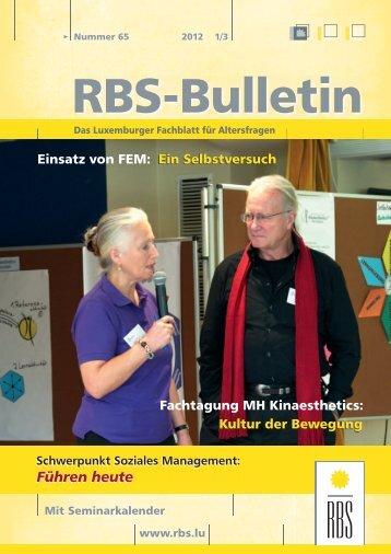 Schwerpunkt Soziales Management: Führen heute - RBS