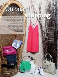 Shopping on board - ANEK Lines