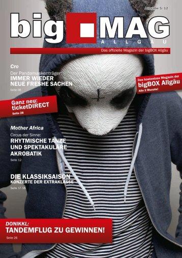 bigMAG 5/2012 - bigBOX Allgäu