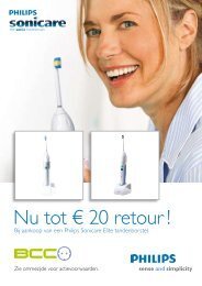 Nu tot € 20 retour ! - Philips