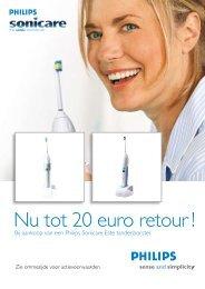 Nu tot 20 euro retour ! - Philips