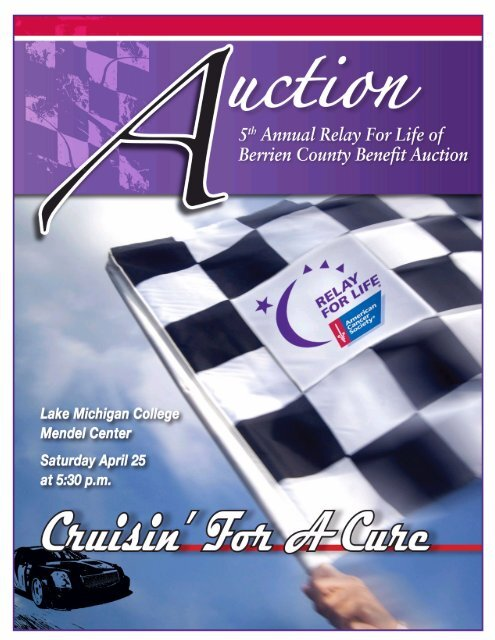 Current Auction Program.pub Relay For Life