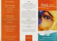 Brochure - Smile Design Studio