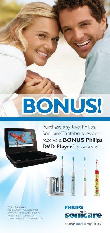 BONUS! - Philips Promotions