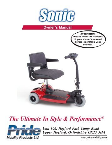 sonic scooter manual daily instruction manual guides u2022 rh testingwordpress co pride colt twin manual pride colt twin manual