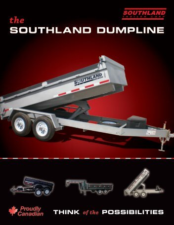 thland dumpline - Southland Trailers