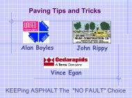 Paving Tips and Tricks - Rmaces.org