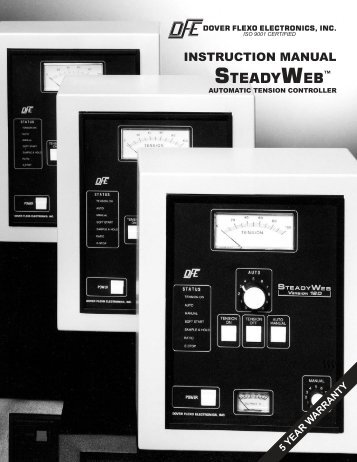 INSTRUCTION MANUAL - Dover Flexo Electronics, Inc