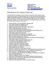 magazine top 100 blues, soul, gospel & zydeco cds - The Reclamators