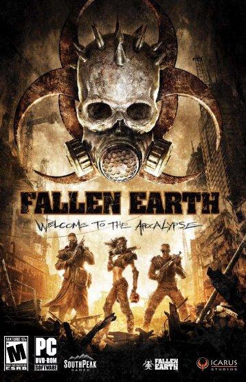 Fallen Earth Manual - Origin Storage - Icarus Studios