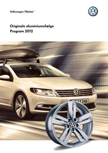 Originale aluminiumsfælge Program 2012