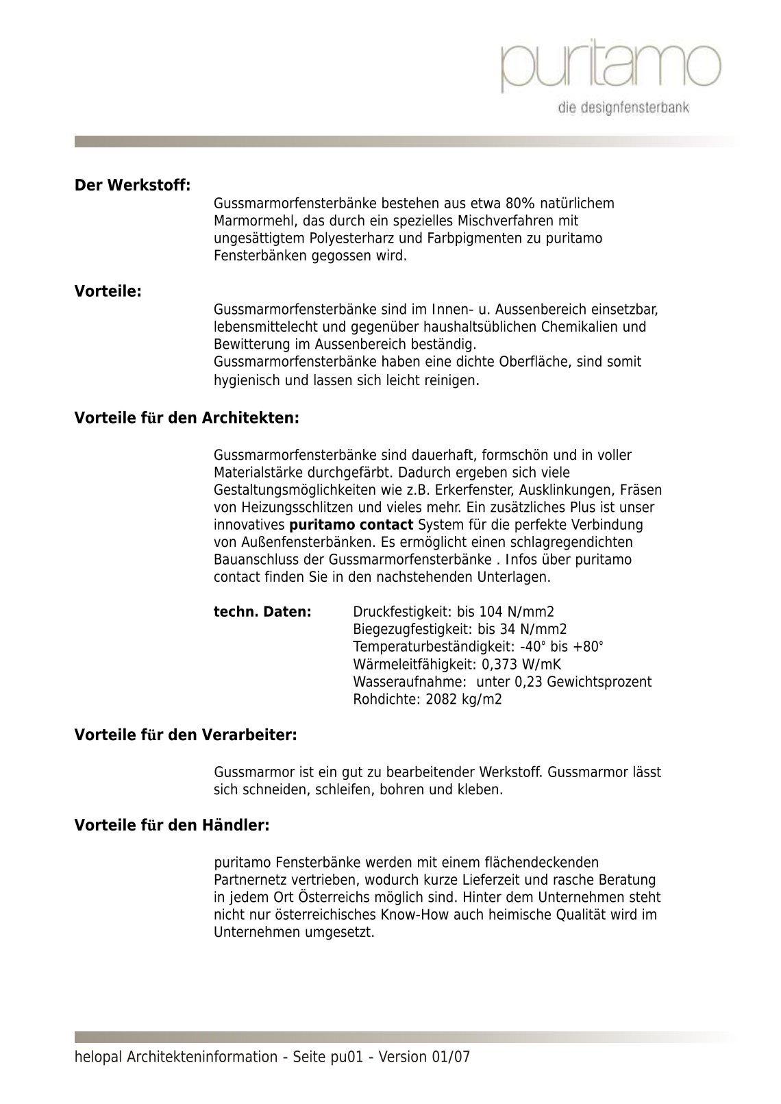 Schön Polythal Fensterbänke Zeitgenössisch - Die Besten Wohnideen ...
