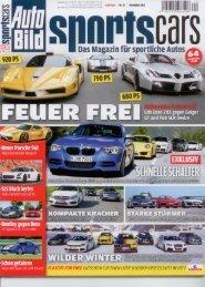 CTEK_Autobild Sportscars 12-12 - Albert Mediamarketing e.K.