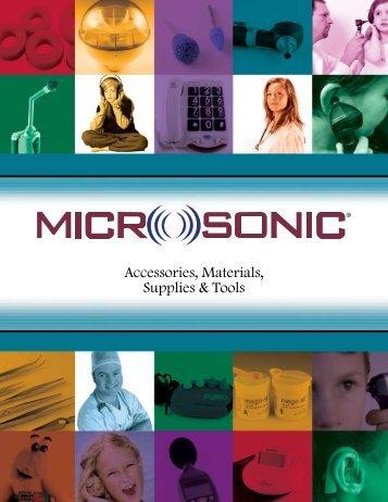 Accessories, Materials, Supplies & Tools - Microsonic