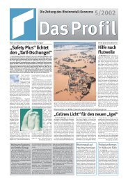Profil 5/2002 f r PDF - Kolbenschmidt Pierburg AG
