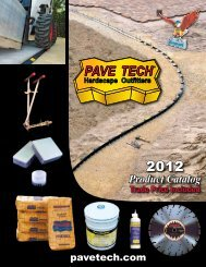 Product Catalog - Pavetech