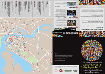 Galway City 2012 Friday September 21st - Culture Night 2012