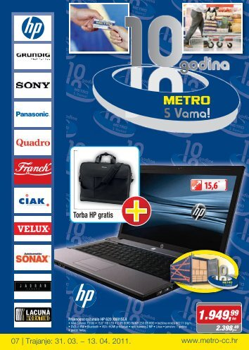 Spremi katalog PDF - Metro