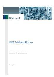 MMS Teileidentifikation