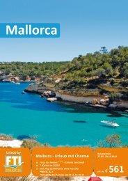 Mallorca - Urlaub mit Charme - Komet-Reisen