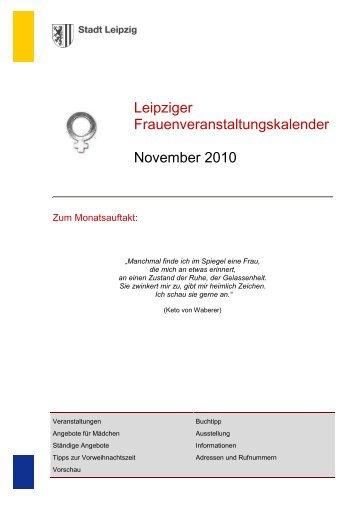 Kalender November2010 - Stadt Leipzig