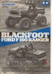 Tamiya Blackfoot Manual - CompetitionX.com