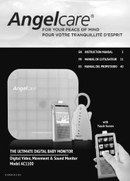 THE ULTIMATE DIGITAL BABY MONITOR Digital Video, Movement ...