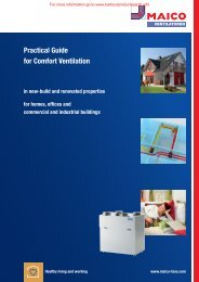 Maico Practical Ventilation Guide - BD Online Product Search