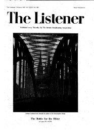 The Listener, 8 March, 1945. Vol. XXXIII. No - solearabiantree