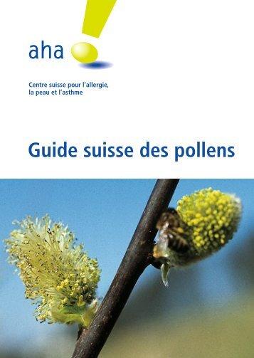 Guide suisse des pollens - Pollen und Allergie