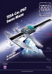 TESA IP67 Depth Calipers