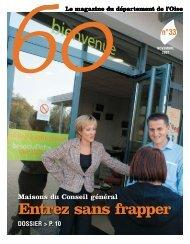 Entrez sans frapper - Conseil général de l'Oise