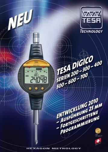 Laden Digico die ganze Reihe - TESA Technology