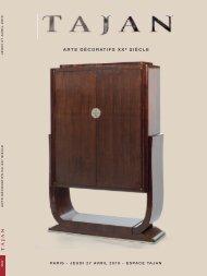 Arts Décoratifs du XXe siècle - Tajan