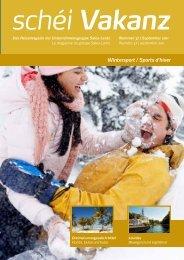 Wintersport / Sports d'hiver schéi Vakanz - Sales-Lentz