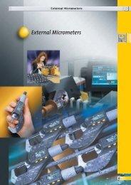 External Micrometers