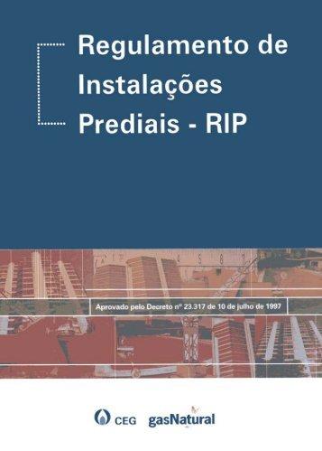 Regulamento de Instalações Prediais - RIP - Ceg