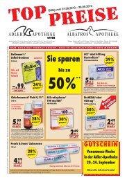 Knüller Preis - Adler Apotheke