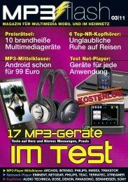 17 MP3-Geräte 17 MP3-Geräte 17 MP3-Geräte - MP3-Flash.de