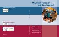 Mountain Research and Development - Digital Himalaya