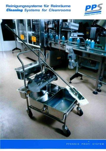 Reinigungssysteme für Reinräume Cleaning ... - Schülke & Mayr
