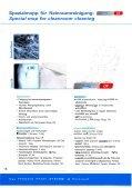 Reinigungssysteme für Reinräume Cleaning ... - Schülke & Mayr - Seite 6
