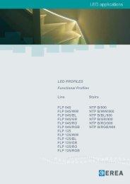 LED PROFILES Functional Profiles Line Stairs FLP ... - Lumidesign