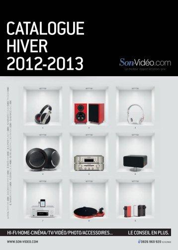 Catalogue Hiver 2012-2013 - Son-Vidéo