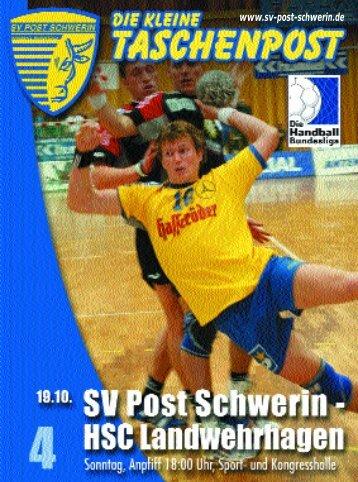 als PDF-Datei - SV Post Schwerin - Handball-Bundesliga