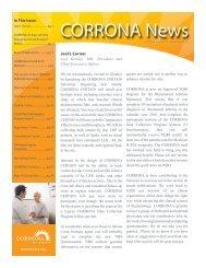CORRONA News