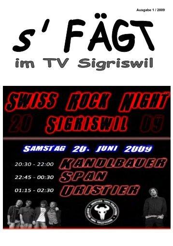 Eine Woche vor dem Fest - Turnverein Sigriswil